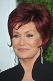 "Sharon Osbourne. At CBS TV Summer Press Tour Party in Beverly Hills. Sharon is one of the stars of the new CBS show ""The Talk"" July 28, 2010  Los Angeles, CA Stock Image"