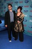Sharon Osbourne,Jack  Osbourne Royalty Free Stock Image