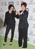 Sharon Osbourne & Sara Gilbert Stock Photography