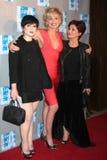 Sharon Osbourne,Sharon Stone,Kelly Osbourne Royalty Free Stock Photography