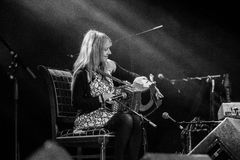 Sharon Shannon and band Royalty Free Stock Image