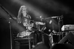 Sharon Shannon und Band Stockbild