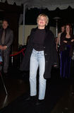 Sharon Stone, ο καλλιτέχνης Στοκ Φωτογραφία