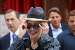 Sharon Stone Foto de Stock Royalty Free