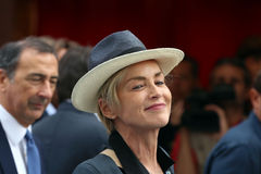 sharon stone Obraz Stock