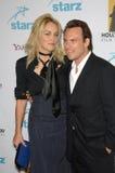 Sharon Stone,Christian Slater Royalty Free Stock Photos