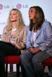 Sharon Stone,Denise Rich Stock Image