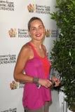 Sharon Stone an der Grundlage Elizabeth-Glaser   Lizenzfreies Stockfoto