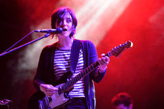 Sharon Van Etten performs at Heineken Primavera Sound 2014 Festival Stock Photography