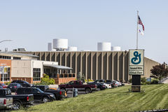 Sharonville - Circa May 2017: General Mills Cereal Plant. General Mills is a manufacturer branded consumer foods III Royalty Free Stock Photo