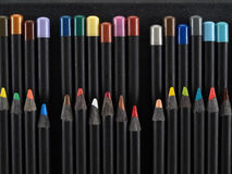 Sharp Artist Pencils Stock Image
