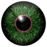Sharp attractive deep eye texture 3D 16 Stock Photo
