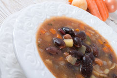 Sharp bean soup Royalty Free Stock Images