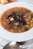 Sharp bean soup Royalty Free Stock Photography