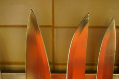 Sharp blades Royalty Free Stock Photos