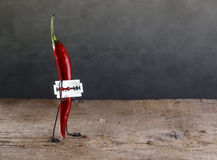 Sharp Chili Stock Photography
