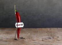 Sharp Chili Stock Photography