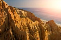 Sharp Cliffs royalty free stock photo