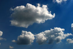 Sharp clouds Royalty Free Stock Image
