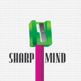Sharp concept Royalty Free Stock Photos