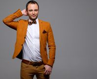 Sharp dressed fashionist Royalty Free Stock Image