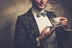 Sharp dressed fashionist Royalty Free Stock Photos