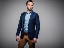 Sharp dressed fashionist Stock Images