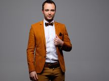 Sharp dressed fashionist Stock Photo