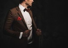 Sharp dressed fashionist Royalty Free Stock Photography