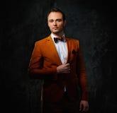 Sharp dressed fashionist Stock Image