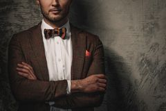 Sharp dressed fashionist Stock Photography