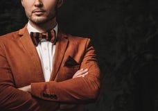 Sharp dressed fashionist Royalty Free Stock Photo