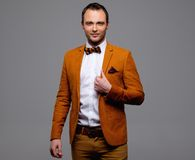 Sharp dressed fashionist Royalty Free Stock Photos