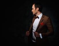 Sharp dressed fashionist Royalty Free Stock Photography
