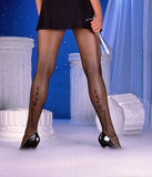 Sharp dressed legs Stock Images