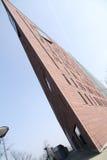 Sharp edge building. In the Sky Stock Image