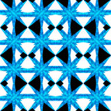 Sharp Geometric Check Seamless Pattern Royalty Free Stock Image