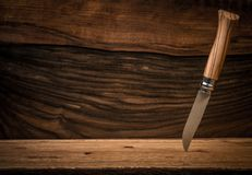 Sharp knife Royalty Free Stock Images