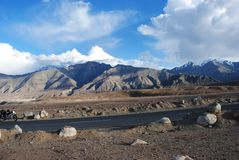 Sharp Ladakh landscape Royalty Free Stock Images