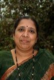 Sharp Maharashtrian woman Stock Images