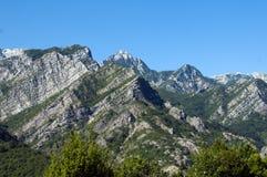 A sharp peaks of Bosnian mountain Stock Image