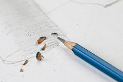 Sharp pencil Stock Image