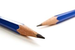 Sharp pencils close up. Stock Photos