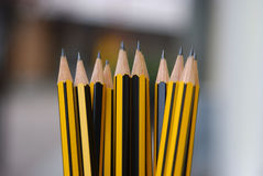 Sharp pencils Stock Images