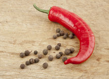 Sharp pepper Royalty Free Stock Photos