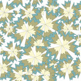 Sharp Petals 3. A background with flowers - a seamless pattern stock illustration