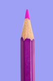 Sharp pink pencil Royalty Free Stock Images