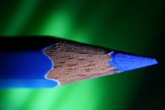 A sharp point of a pencil. Royalty Free Stock Images