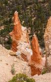 Sharp Pointed Hoodoos Bryce Canyon National Park Utah Royalty Free Stock Photos