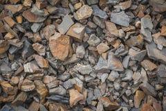 Sharp rocks texture Royalty Free Stock Photo